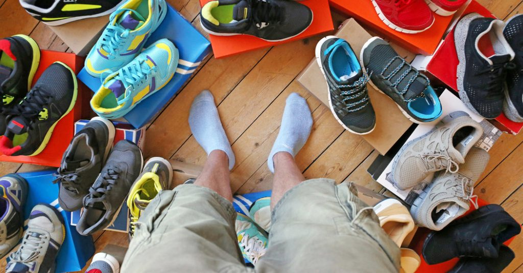 how to choose sneakers
