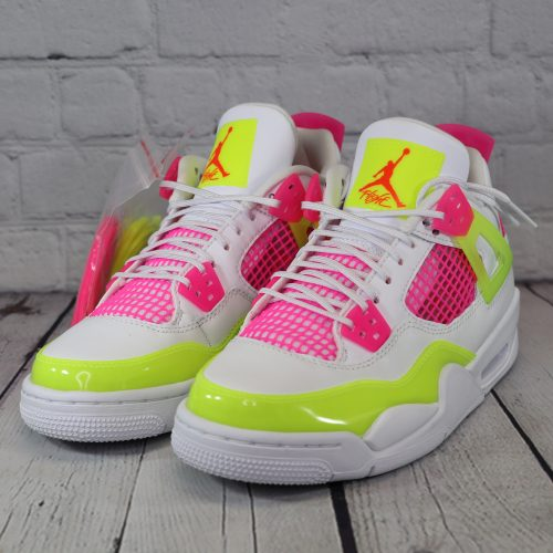 Air Jordan 4 Retro GS Lemon Venom