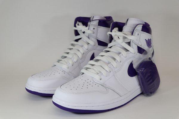 Wmns Air Jordan 1 High OG 'Court Purple'