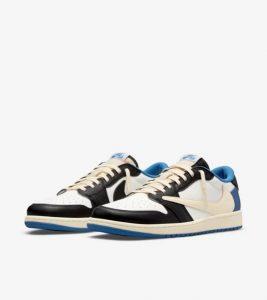 Air Jordan 1 Low Travis Scott x Fragment